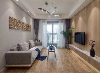 廣州簡約風格兩居室裝修效果圖