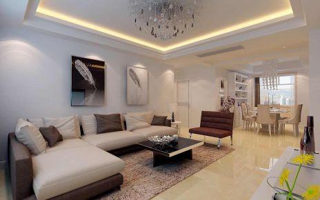 宁波简约风格两居室装修效果图