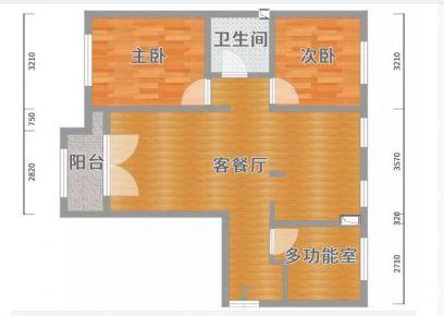 广州现代风格四居室装修效果图