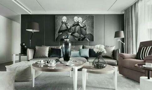 石家庄现代风格两居室装修效果图