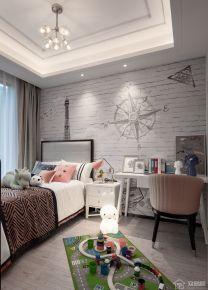 绍兴中式四居室装修效果图