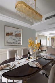 成都欧式风格四居室装修效果图