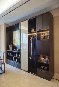 西安中式风格四居室装修效果图