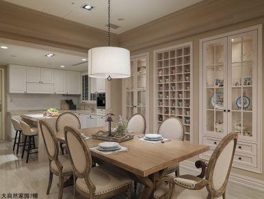 温州美式风格三居室装修效果图