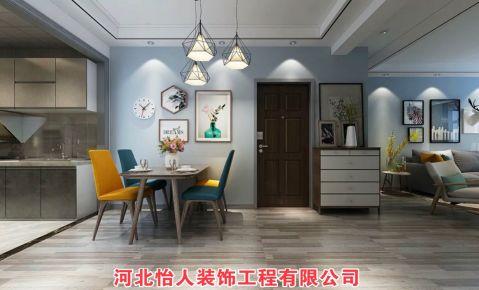 石?#26131;?#27431;式风格三居室装修效果图