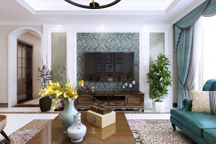 青岛名嘉汇轻美式2居室装修案例,奢出新高度