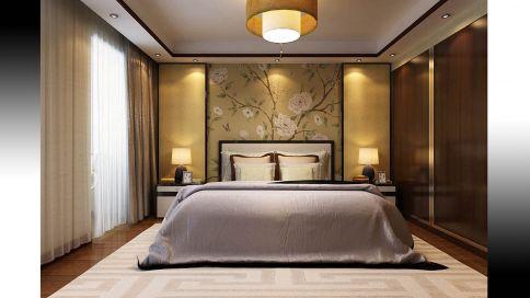 青岛台湾风琴大街五口之家新中式小别墅装修案例