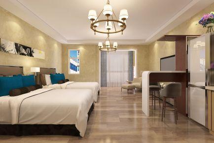 青岛东方至尊公寓简约清新宜家风小户型装修设计