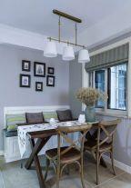 西安碧桂园美式风格三居室装修案例 100平的房子装修多少钱?