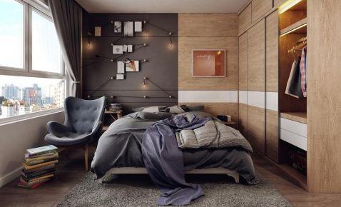 厦门三居室北欧风格装修效果图
