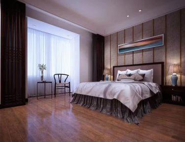 成都中式风格四居室装修效果图