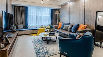 贵阳现代风格四居室装修效果图
