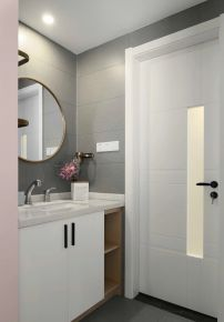 常州北欧风格两居室装修效果图