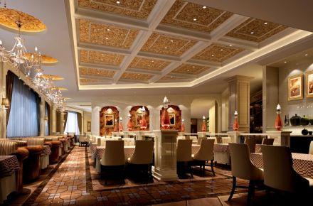成都复古风格茶餐厅装修效果图