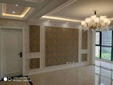 咸阳欧式风格三居室装修效果图