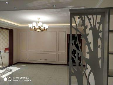 咸阳美式风格三居室装修效果图