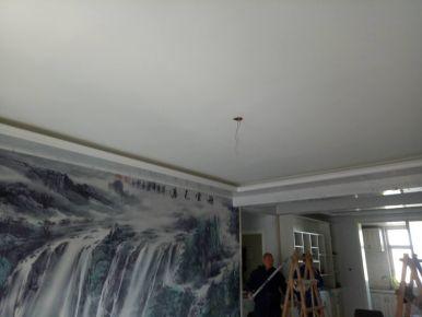 石家庄现代风格三居室装修效果图