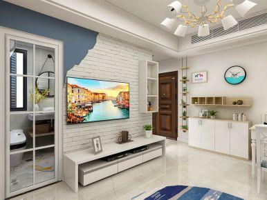 杭州北欧风格55方小户型装修案例