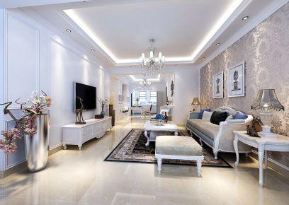 昆明欧式风格三居室装修效果图