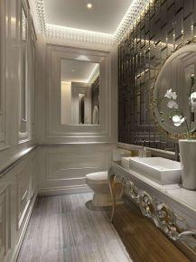 杭州法式风格四居室装修效果图