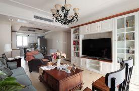 西安小户型两居室精致简约美式装修案例