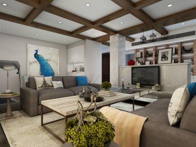 西安混搭风格三居室装修效果图