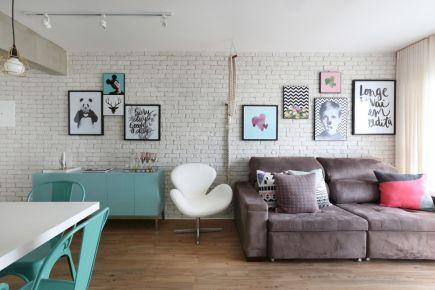 西安简约风格两居室装修效果图