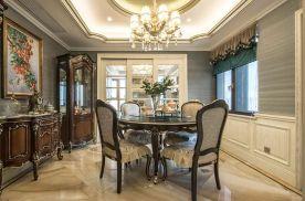 杭州美式风格四居室装修效果图