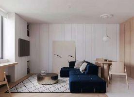 南京田园风格两居室装修效果图