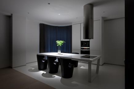 杭州简约风格两居室装修效果图