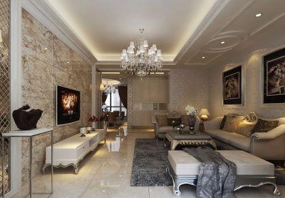 杭州欧式风格三居室装修效果图