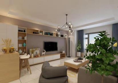长春欧式风格三居室装修效果图