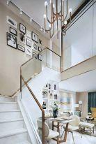 昆明现代风格复式楼装修效果图
