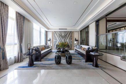 重庆新中式风格四居室装修效果图