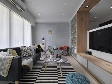 重庆两房现代简约风格装修效果图