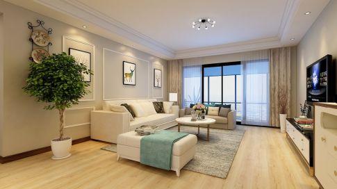 昆明现代风格四居室装修效果图