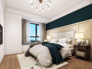 常州现代风格三居室装修效果图