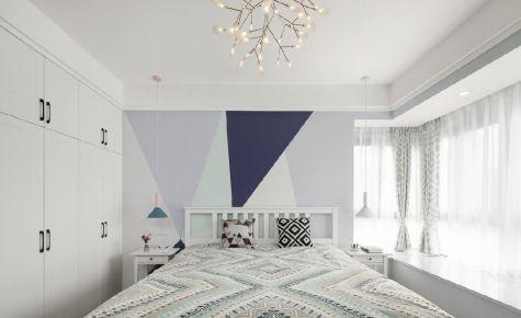 六安简约风格三居室装修效果图