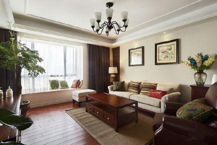 重庆八十㎡ 美式两居室装修效果图