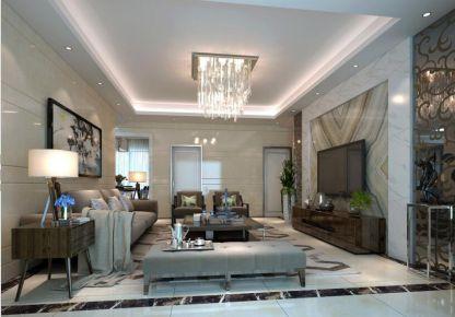 佛山现代式三居室装修设计效果图
