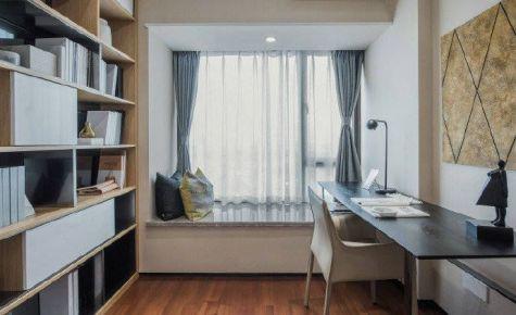 重庆90㎡简约三居室装修案例