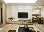 淮安自然清新简约100平二居室装修效果图