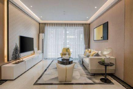 重庆金科花园89㎡现代简约三居室装修效果图