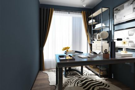 成都121㎡现代风格三居室装修效果图