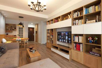 乌鲁木齐荣和城现代简约北欧混搭三居室装修案例