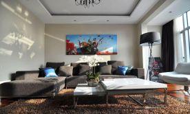 重庆145㎡现代简约四居室装修效果图