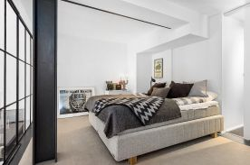 哈尔滨现代两居室装修效果图