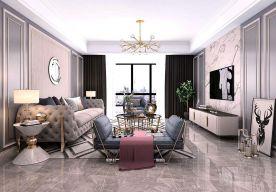六安天易凤凰城现代简约三居室装修案例