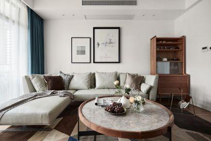 贵阳混搭风格两居室装修效果图
