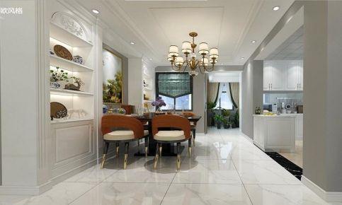 遵义混搭风格三居室装修案例